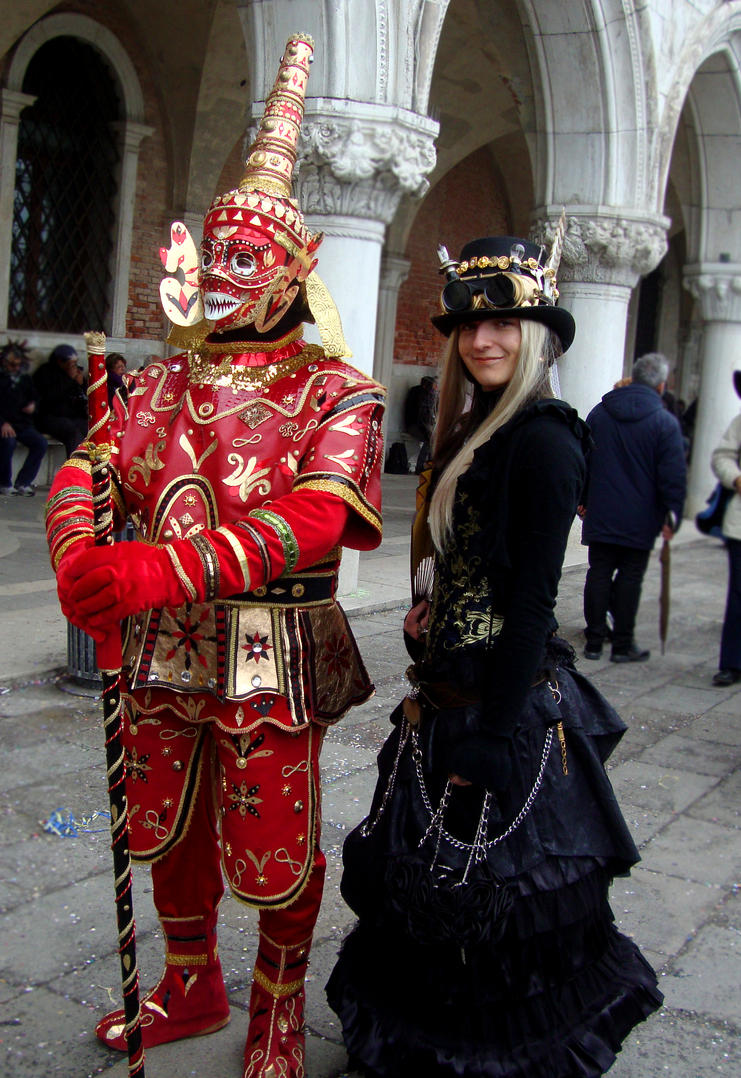 Venice costumes III by vladioglas