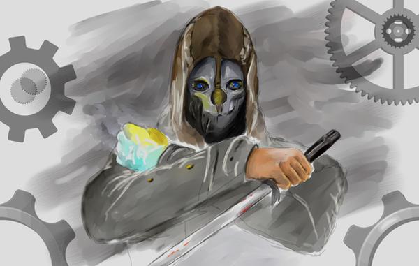 Dishonored Fan Art Corvo Video Games Wallpapers Hd: Fanart By Vladioglas On DeviantArt