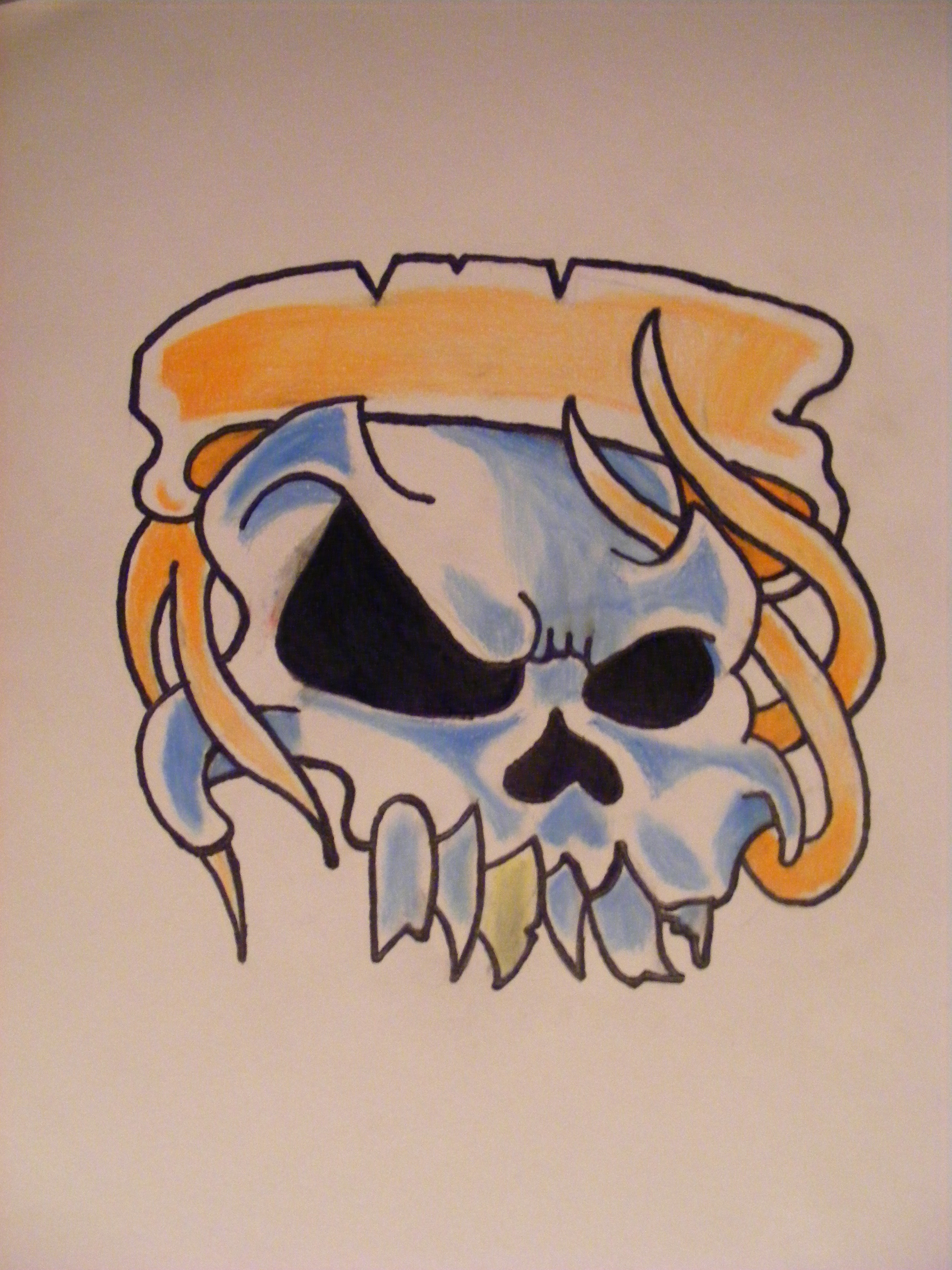 Cool Skull By CaptainAwesome94