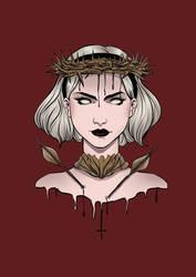 Sabrina, The Herald Of Hell by kat-ika