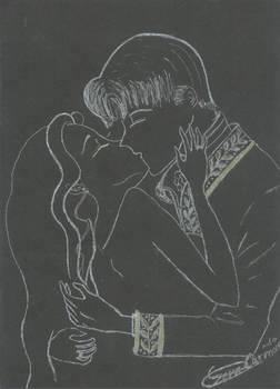 Soft Dark kisses