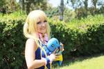 Lucy Heartfilia cosplay Nirvana arc.