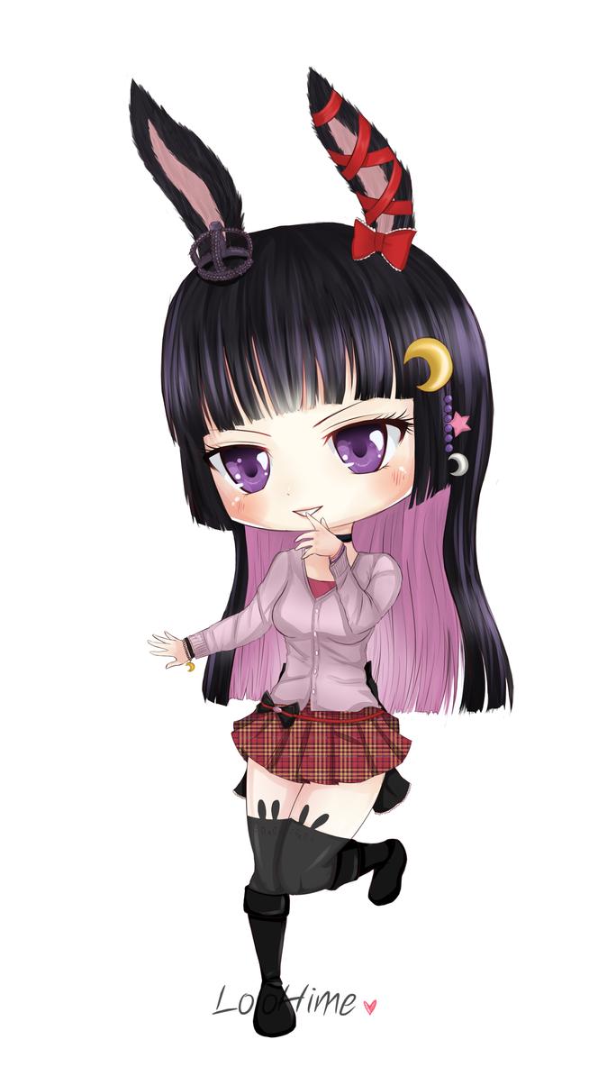 Commission: Vanille Idol Chibi by InfinityAngel92