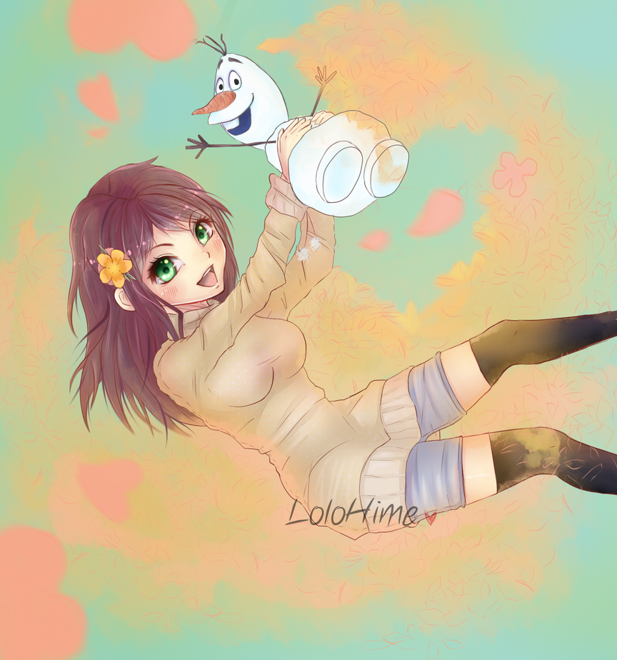 Commission: we love summer! by InfinityAngel92