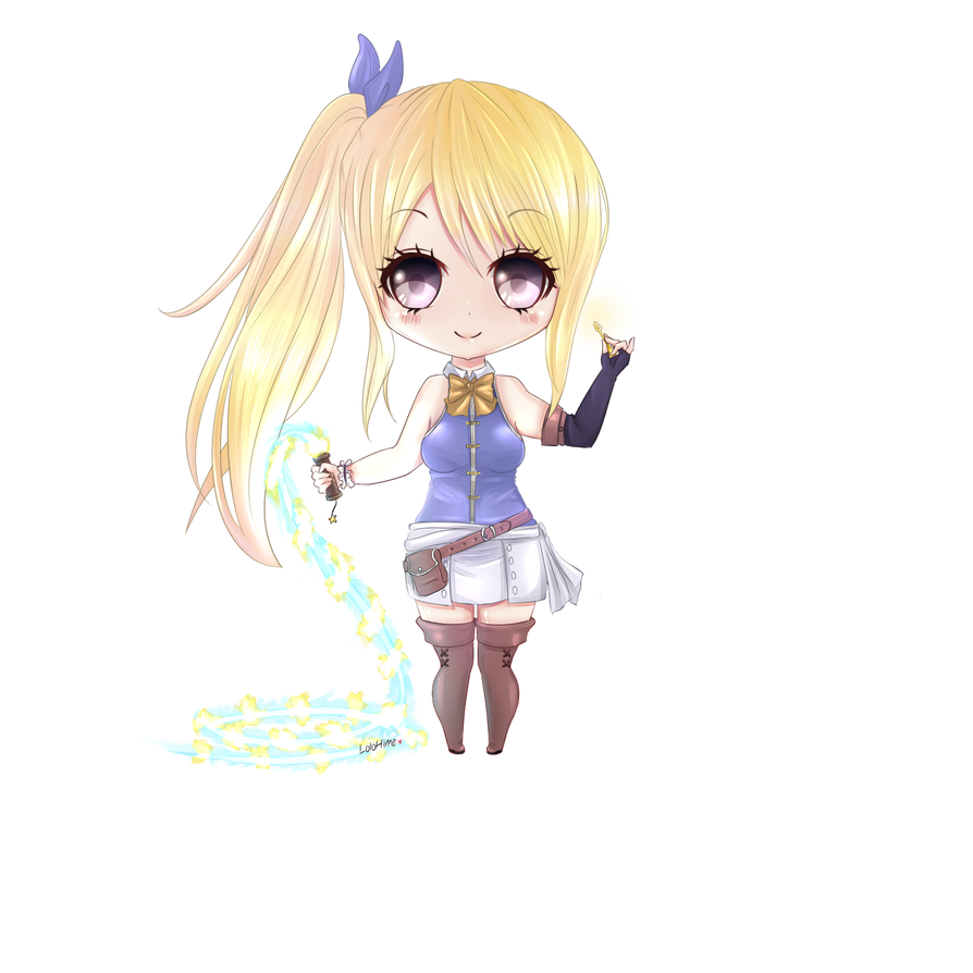 Timeskip Chibi Lucy by InfinityAngel92