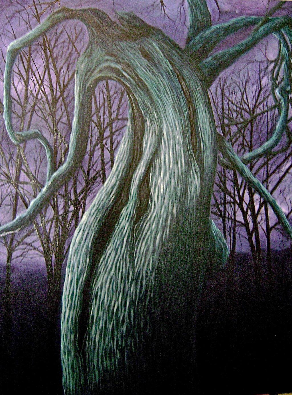 Night Tree by tiletable