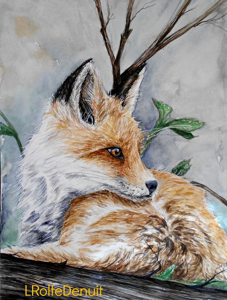 Little Foxy by tiletable