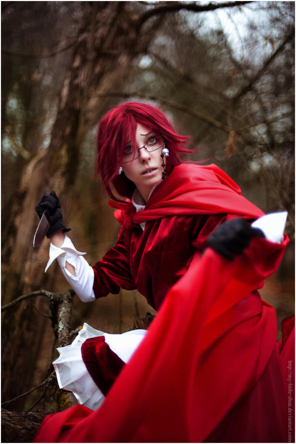 Image result for grell cosplay