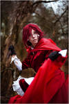 Grell the Little Red Riding Hood by shua-cosplay