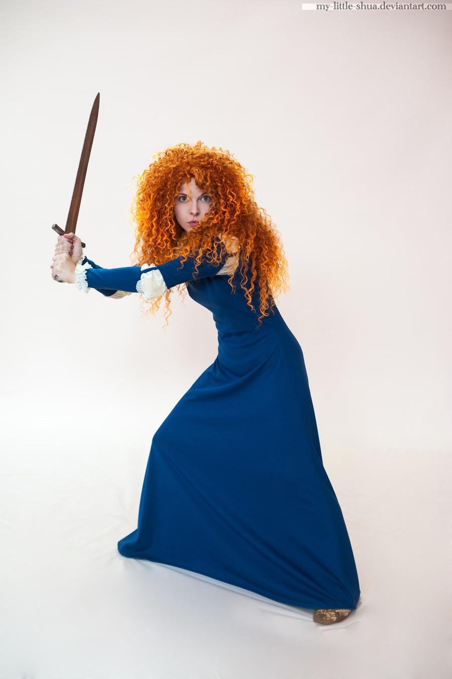 Brave Merida by shua-cosplay