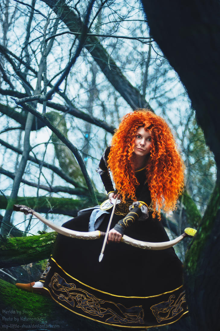 BRAVE Merida by shua-cosplay