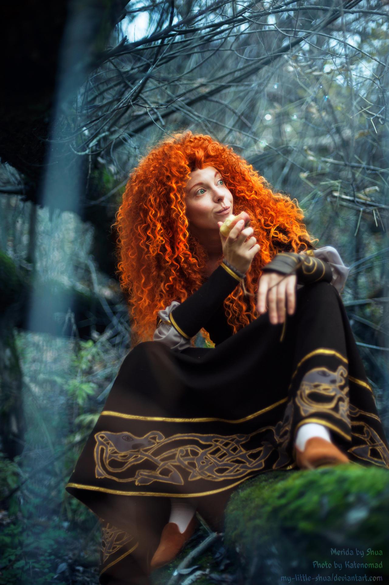 Merida Forest Break by shua-cosplay