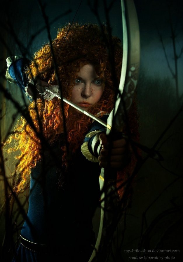 Merida, best archer of the land by shua-cosplay
