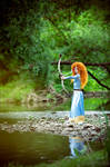 Merida, by the river