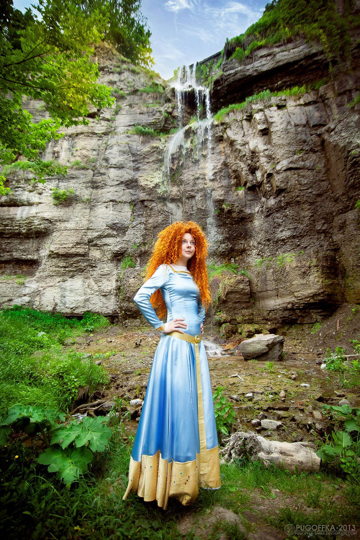 Merida, firefalls by shua-cosplay
