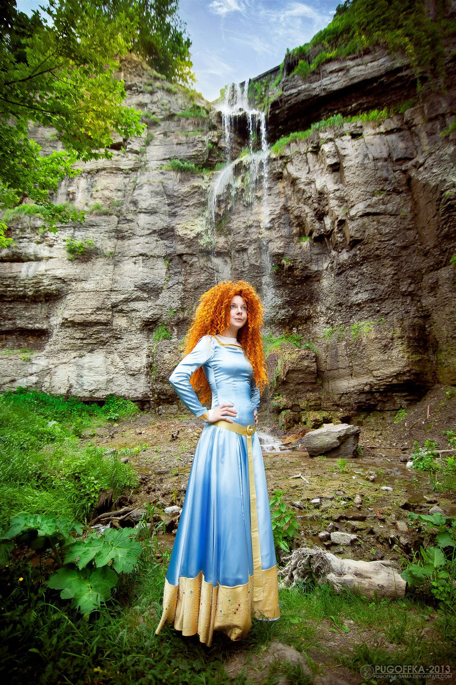 Merida, firefalls by shua-cosplay