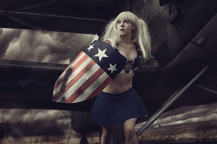 Captain America Fem by shua-cosplay