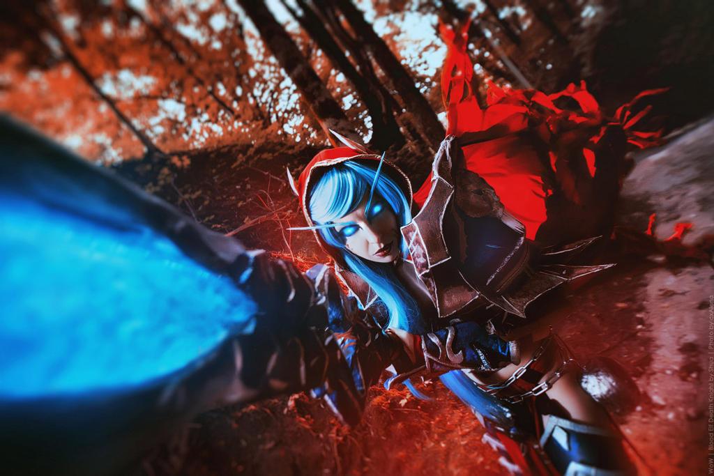 Blood Elf Death Knight  - WoW by shua-cosplay