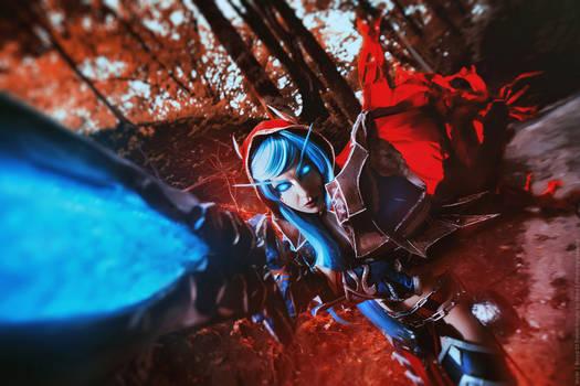 Blood Elf Death Knight  - WoW