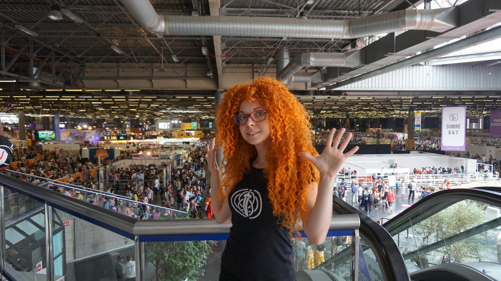Modern Merida at Japan Expo 2015 by shua-cosplay