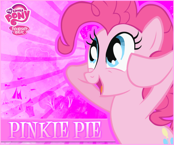 Pinkie Pie MLP:FiM by LionheartKD
