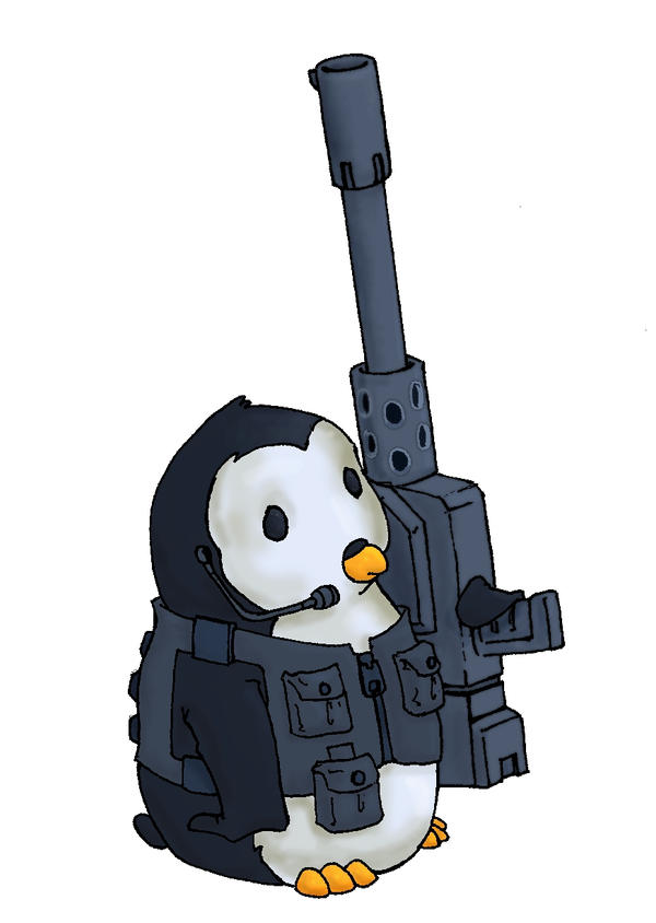 Penguin by alphacentauri85