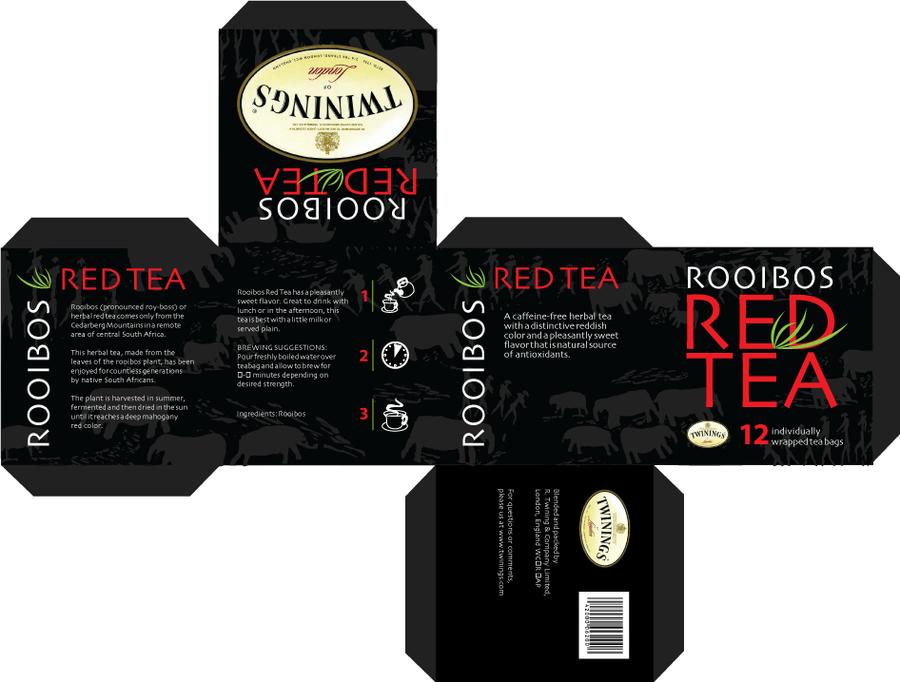 rooibos tea box package design by joebowles on deviantart