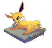 Jolteon by Himmely