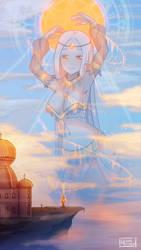 Goddess of Light by Himmely