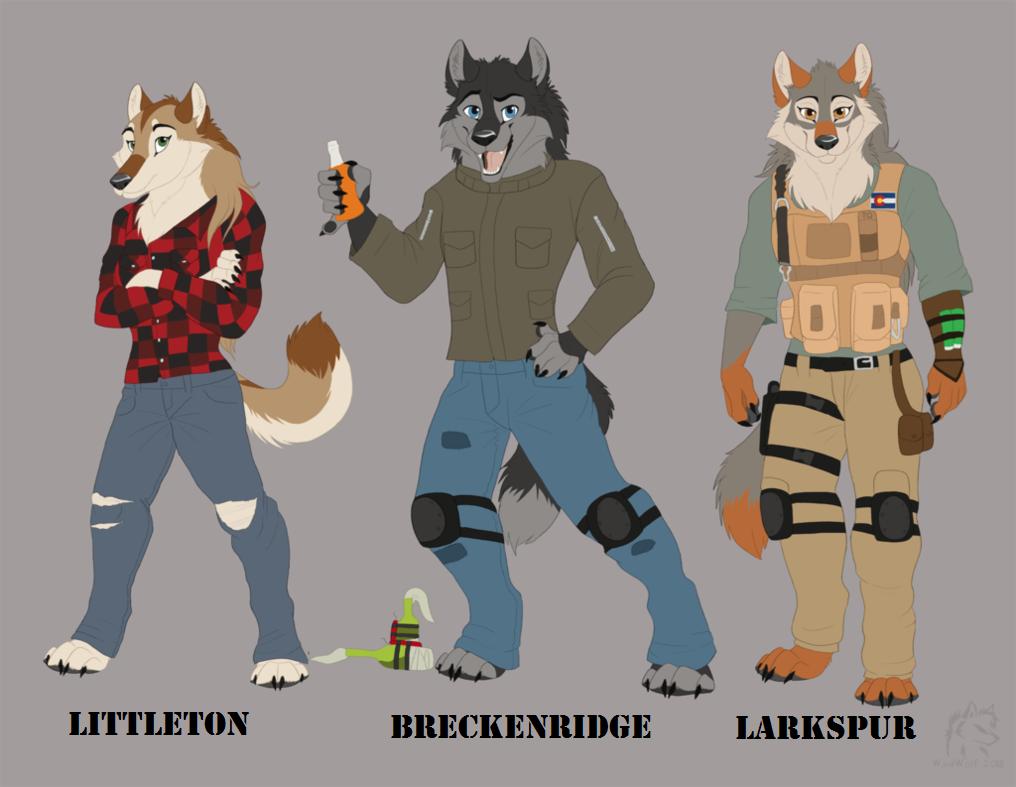 'Scraps' Crew Lineup by WanderingGoose