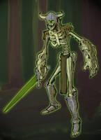Skelly Sword by kinglamoni22