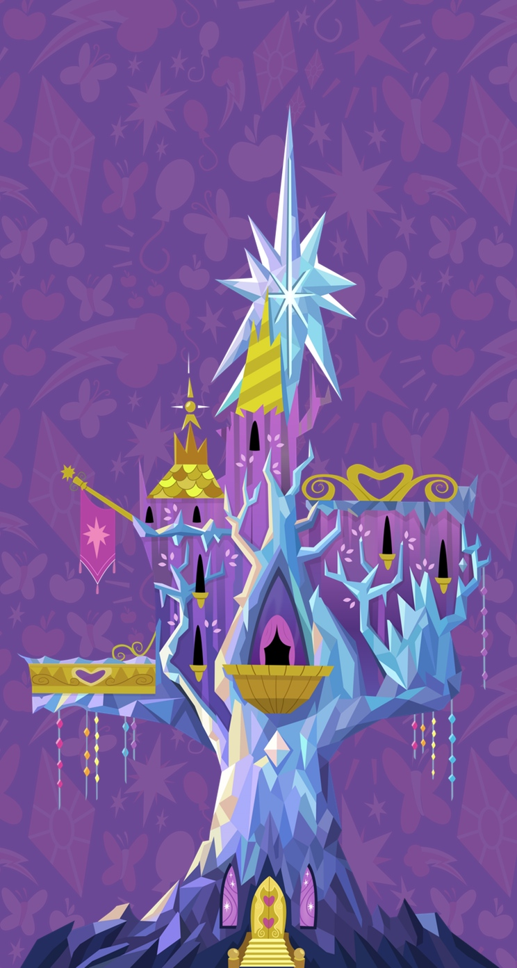 Twilight's Castle for iOS by KryptonPony