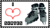 Love Skates Stamp by Chrno-chan