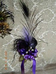 Purple-mini Hat by Keahrou