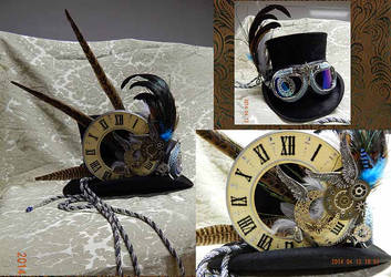 Steampunk-cilinder by Keahrou