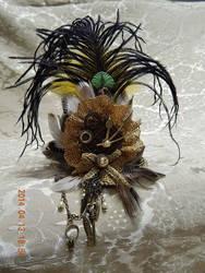 Steampunk mini hat by Keahrou