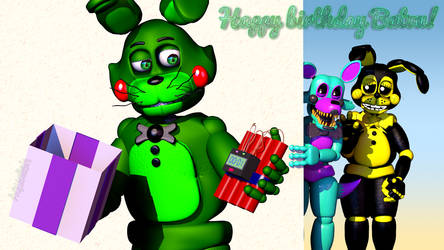 Happy birthday Batou! by Aqualish007