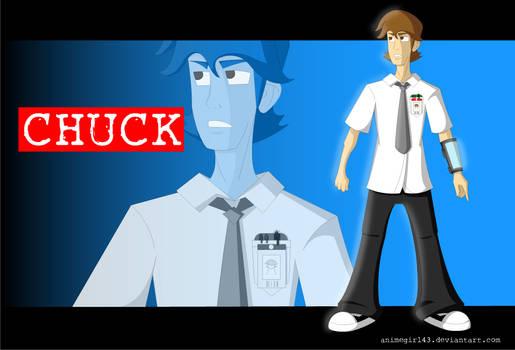 Chuck Cartoonized
