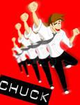 CHUCK Comic Con Poster