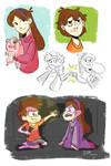 Gravity Falls Sketches