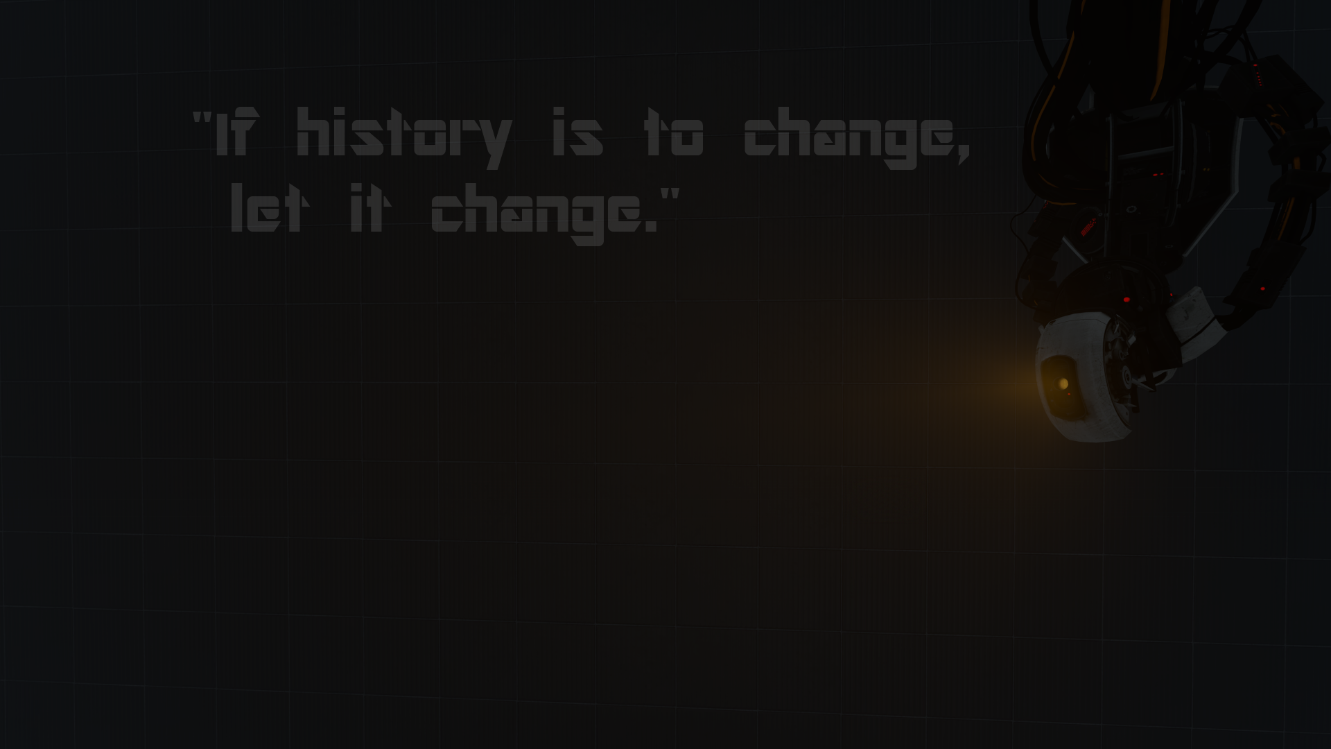 glados quote by herrgamer on deviantart