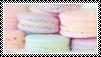 macarons - stamp