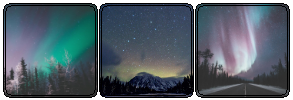 |DECOR| Northern Lights/Aurora Borealis by Volatile--Designs