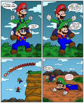 When Luigi is Mario