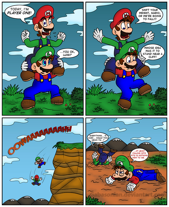 funny mario and luigi jokes - photo #1