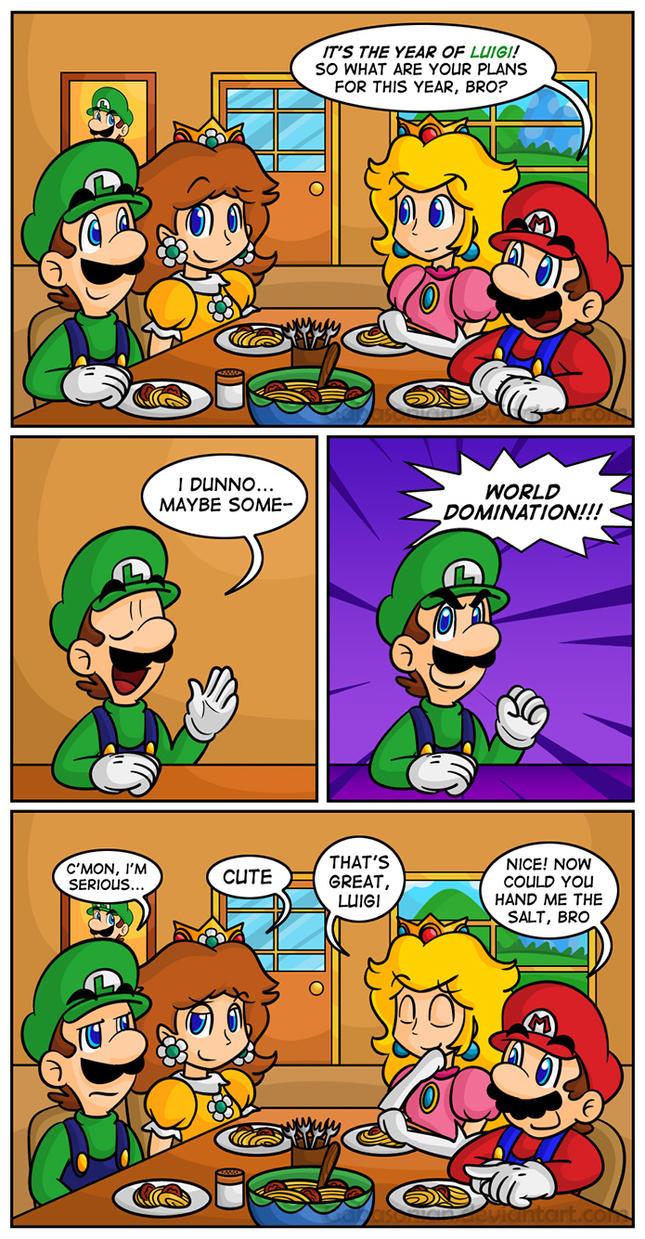 Year of Luigi by Gabasonian