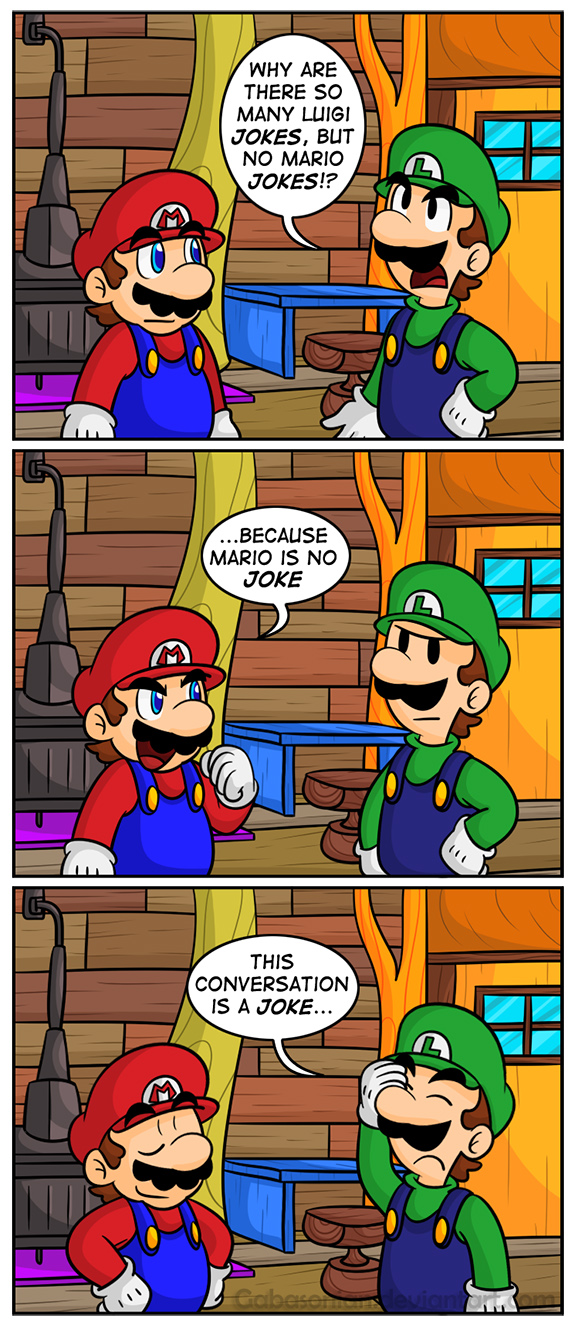 funny mario and luigi jokes - photo #27