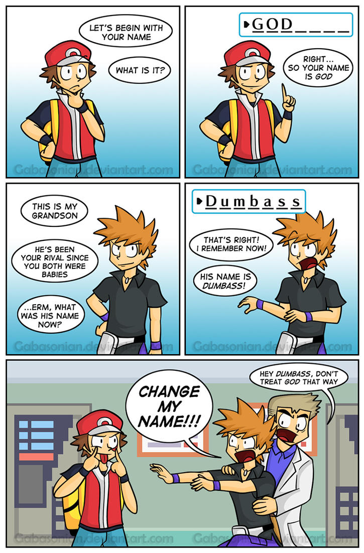The Name Game by Gabasonian