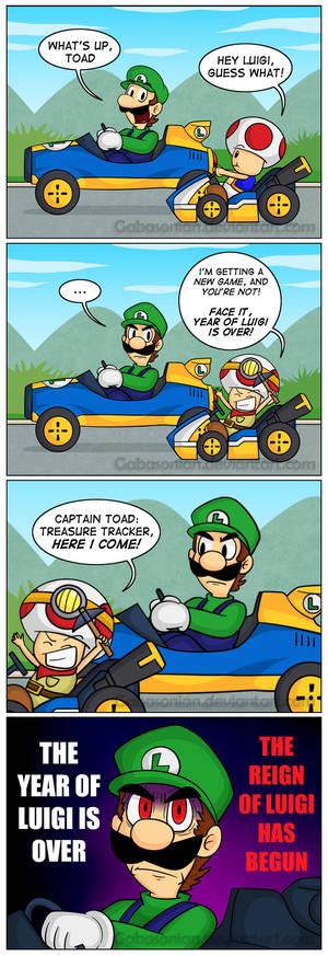 The Reign of Luigi by Gabasonian