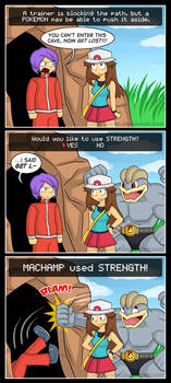 Use Strength!